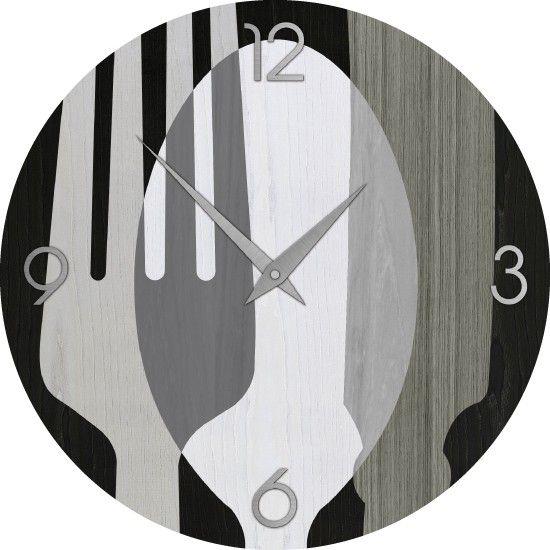 Soledì- Orologio da Parete Effetto Tridimensionale 3D Sticker ...
