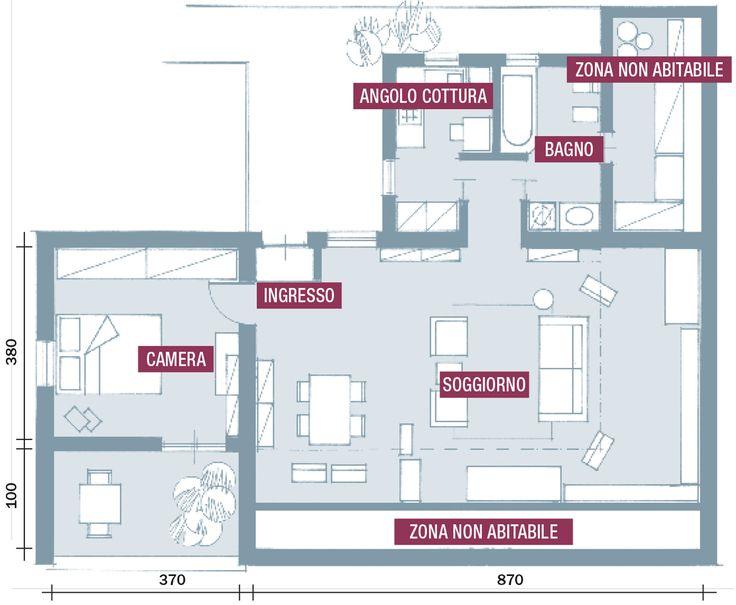 best 25+ arredamento zona studio ideas on pinterest | arredamento ... - Zona Studio Nel Soggiorno 2