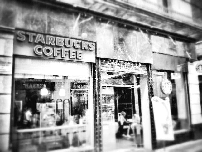 Starbucks in black