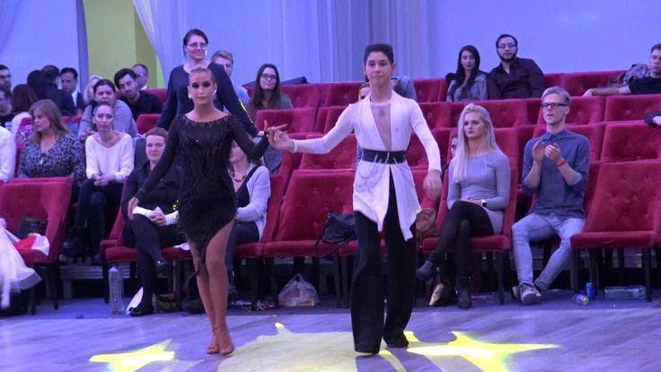 WDSF Bucharest Grand Ball*MARIA SI COSMIN*Premieri Latino Junior II LOCUL I