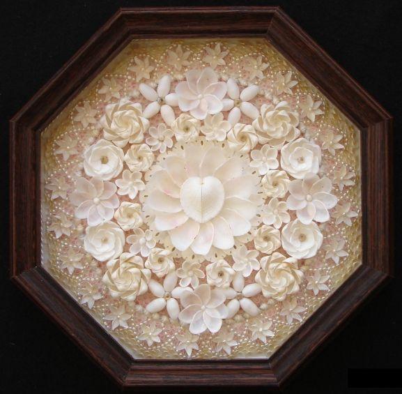"13"" valentine, many pearls, by Dana Behnke."