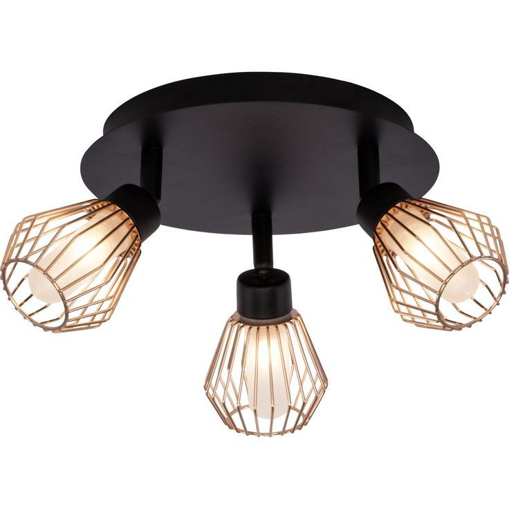 Keila 3 Spot Ceiling Light Without Bulb 3 G9 Inspire Ceiling Spotlights Ceiling Lights Bedroom Ceiling Light