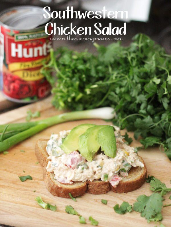 Southwestern Chicken Salad is a delicious twist on classic chicken salad and perfect for summer since you don't have to heat the oven!