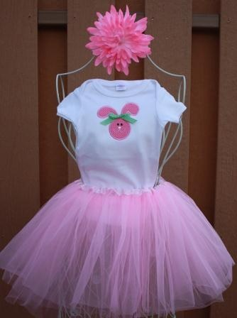 One of our tutus :) at Sew Fly With Me!!  Check us out on FACEBOOK!!