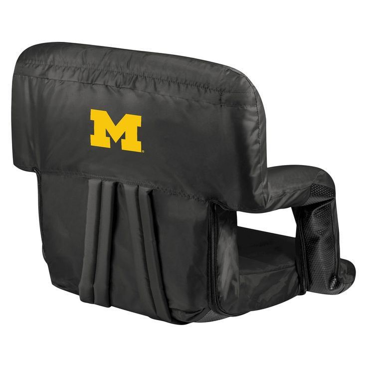 Portable Stadium Seats NCAA Michigan Wolverines Black