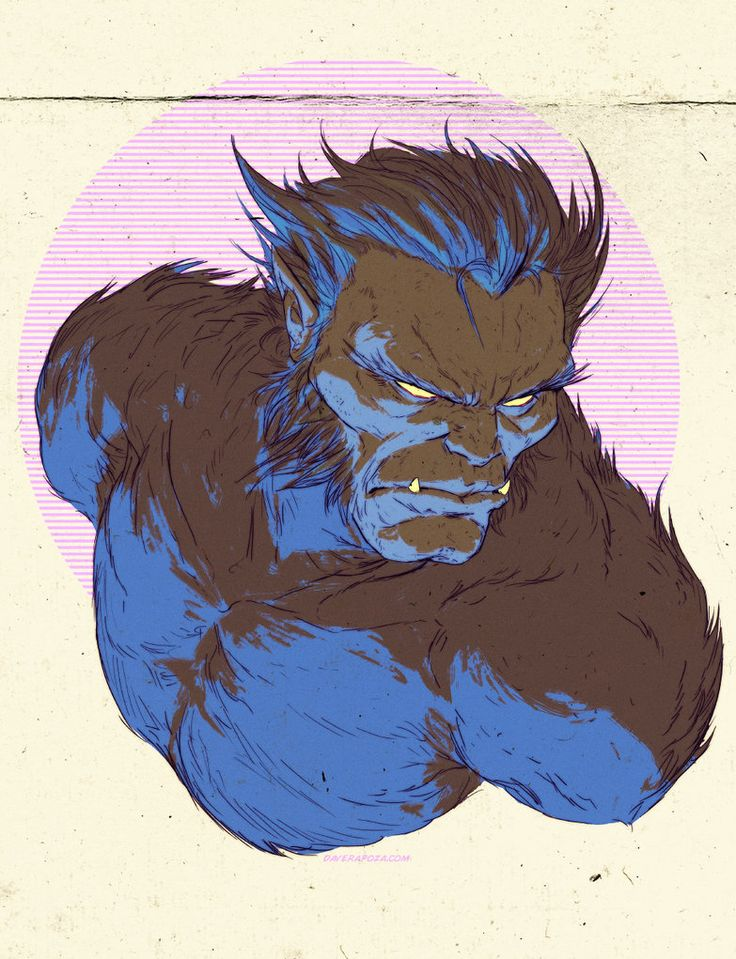 Beast by Dave Rapoza. One of the greatest Beast pieces ever.