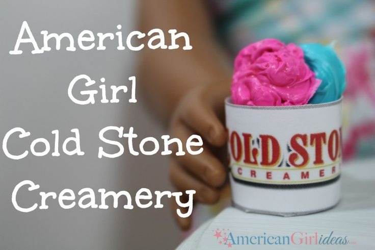 American Girl Ice Cream Shop.