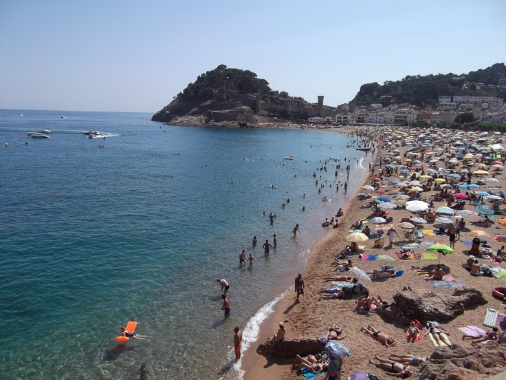 Tossa De Mar beachfront