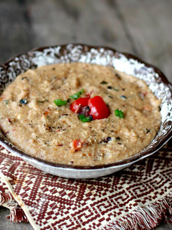 creamy-bacon-and-tomato-grits | Breakfast/Brunchy Ideas | Pinterest