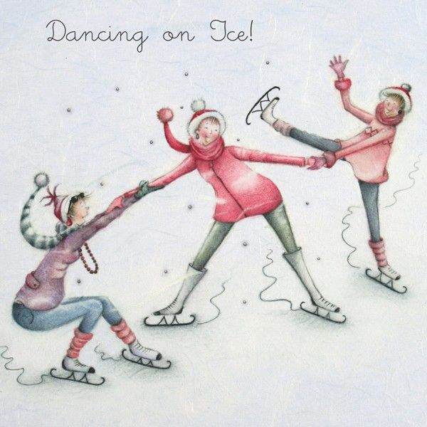 Dancing On Ice -  by Berni Parker