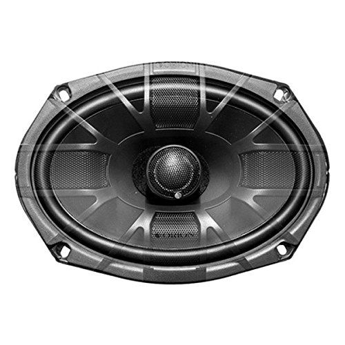 """Orion XTR69.3 6"""" x 9"""" 3-Way XTR Series Coaxial Car Speakers. Power Handling: Peak: 360 watts per pair / RMS: 200 watts per pair. UV Coated fiber blended cones for excellent durability. Butyl rubber surrounds provide enhanced excursion. Single interlaced conex spiders. Stamped steel baskets with Euro mounting configurations."""