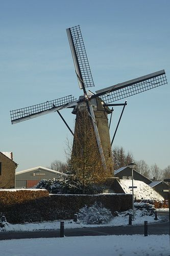 Holten's molen Deurne - windmill