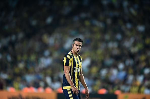 Robin van Persie has scored his first goal for Fenerbahce since joining from Manchester United http://bbc.in/1NoEuz6