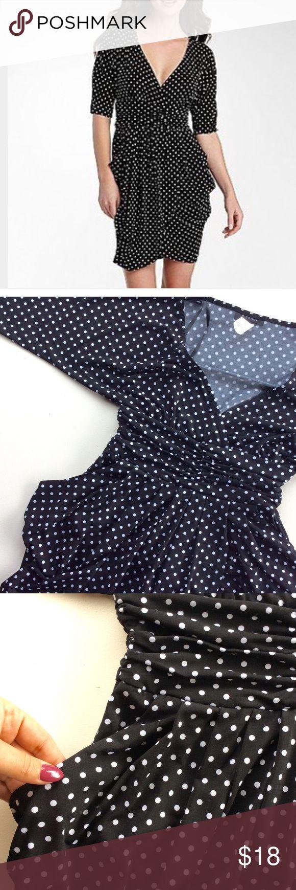 Polka Dots Tulip Dress Beautiful dress, easy to wear, very flattering! B. SMART Dresses