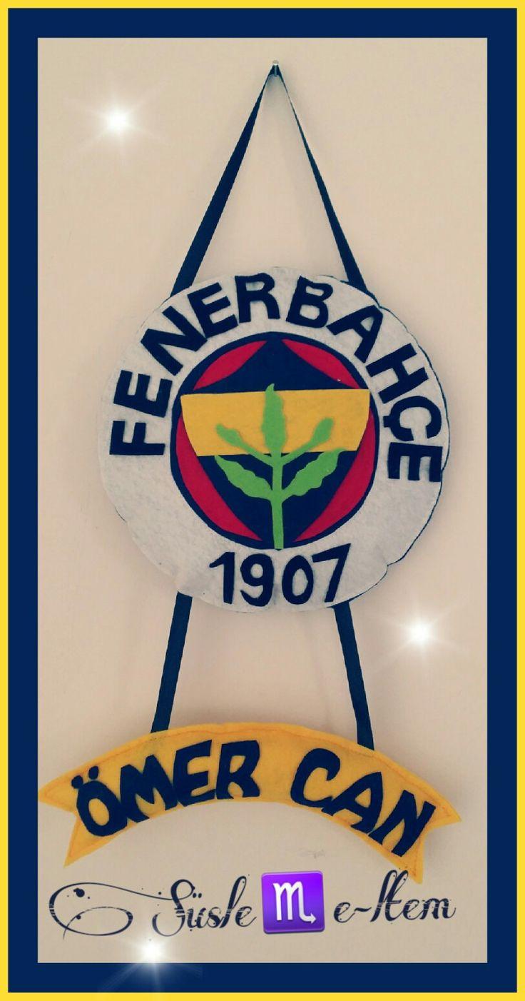 #Fenerbahçe  kapı süsü duvar süsü