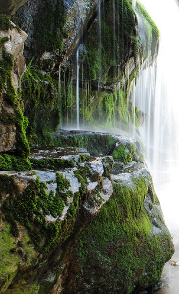 St Beatus Caves   Waterfall Walkway  Interlaken Switzerland