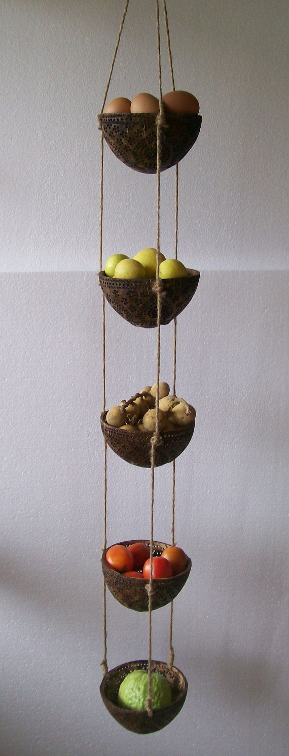 Best 25 Hanging Fruit Baskets Ideas Only On Pinterest