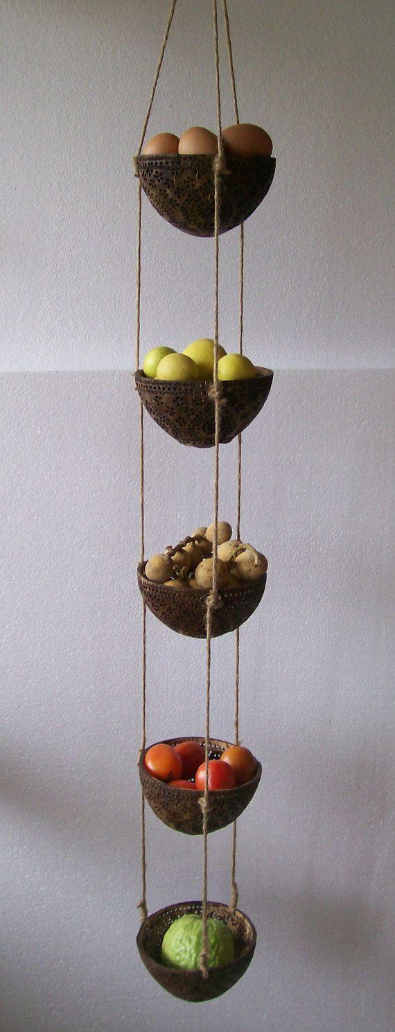 17 Best Ideas About Hanging Fruit Baskets On Pinterest Fruit Kitchen Decor Wire Fruit Basket