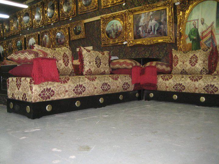 56 best images about salon marocain on pinterest un for Salon oriental marocain