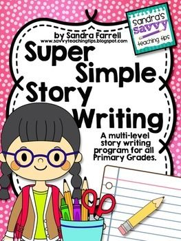 If you are looking for step-by-step instructions on how to teach children to write a story, this is the perfect unit for you.  And the best part is that this unit is suitable for children from Kindergarten to Grade 3.  This unit is super easy to prep and full of tons of blackline masters.