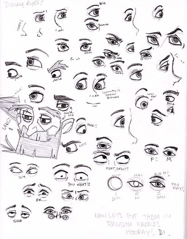 Cartoon Character Design Eyes : Best disney style drawing ideas on pinterest
