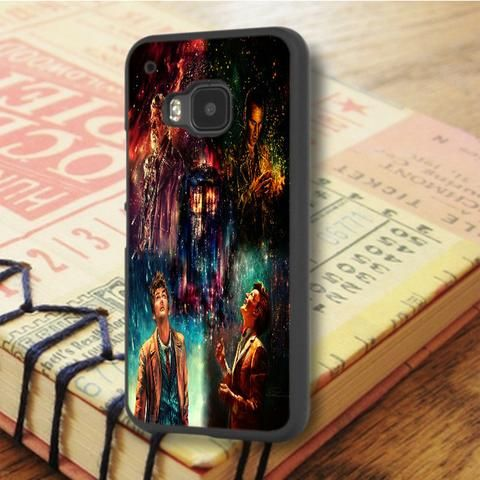 Doctor Who Tardis Art Painting HTC One M9 Case