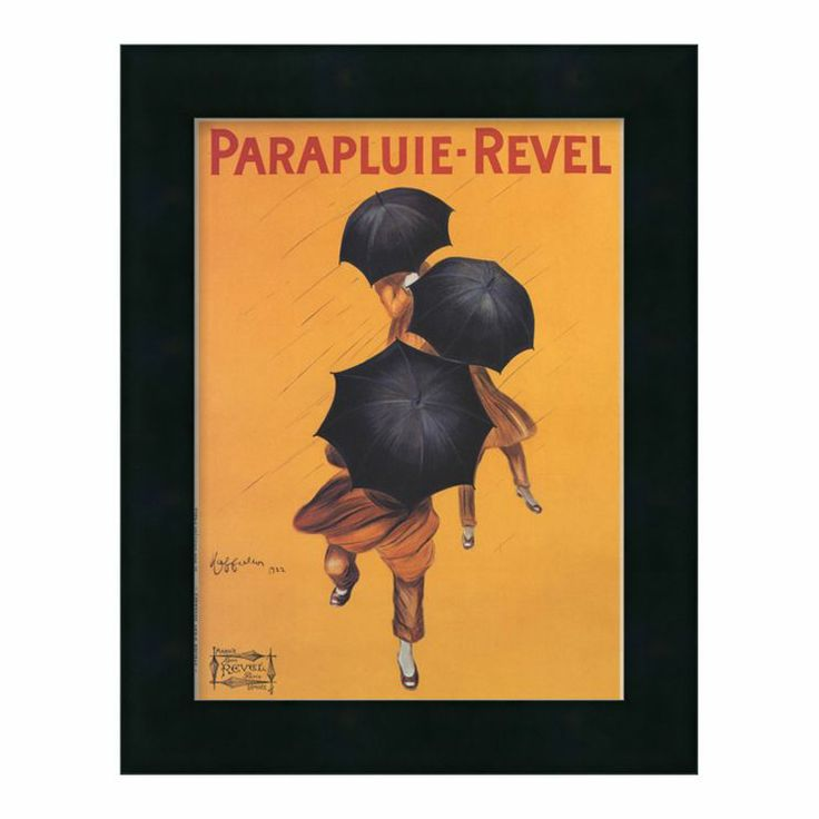 Parapluie-Revel by Leonetto Cappiello Framed Wall Art