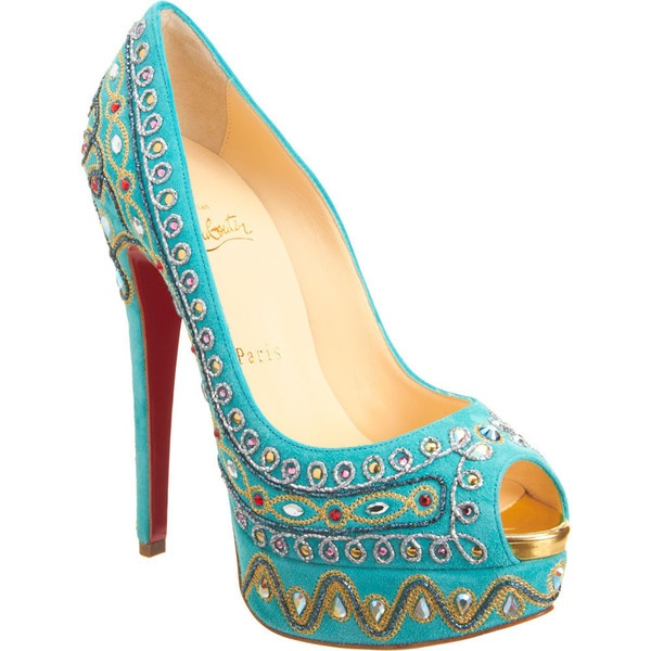 Christian Louboutin Bollywoody found on Polyvore