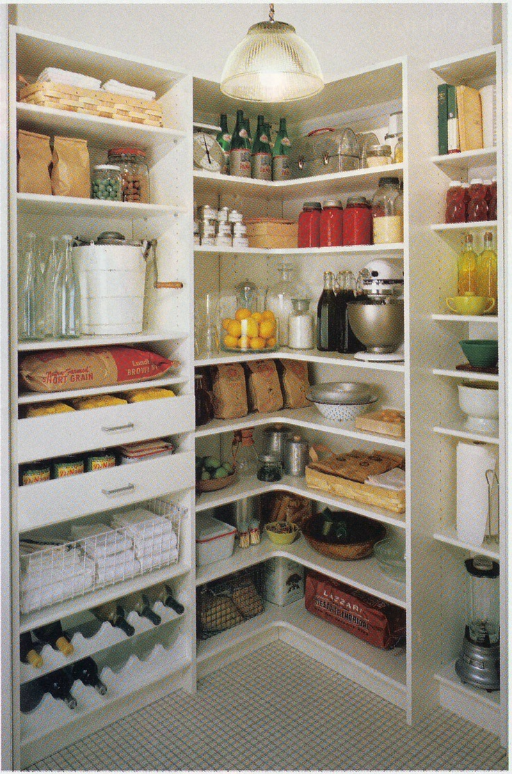 36 Best Images About Pantries For An Organized Kitchen On