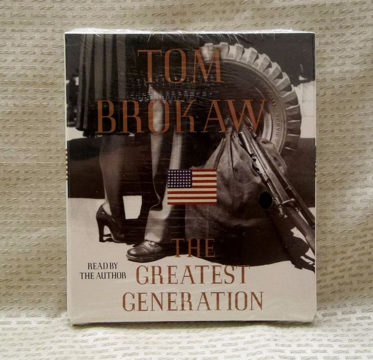 The Greatest Generation by Tom Brokaw 3 CD Set 1998 Read By The Author WWII New