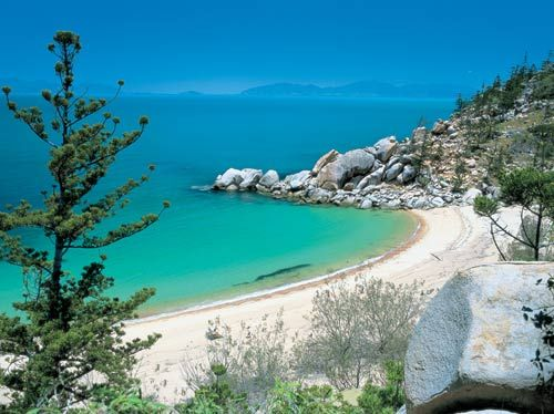 Looking out at Magnetic Island