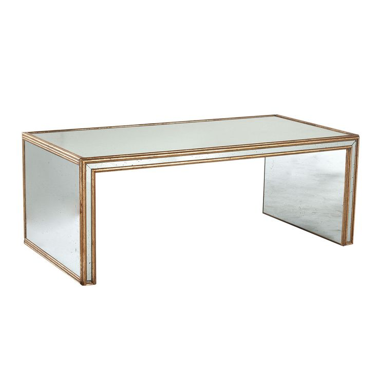 Antiqued Art Deco Coffee Table