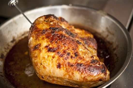 ~ Whiskey Glazed Wild Turkey Breast. Judith's comment: very nice photo Tutorial, which makes every step less stressful !!! I'm so doing this glaze on more than turkey !
