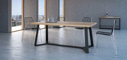 meble - stoły i stoliki-VERTICO minimalistyczny stół