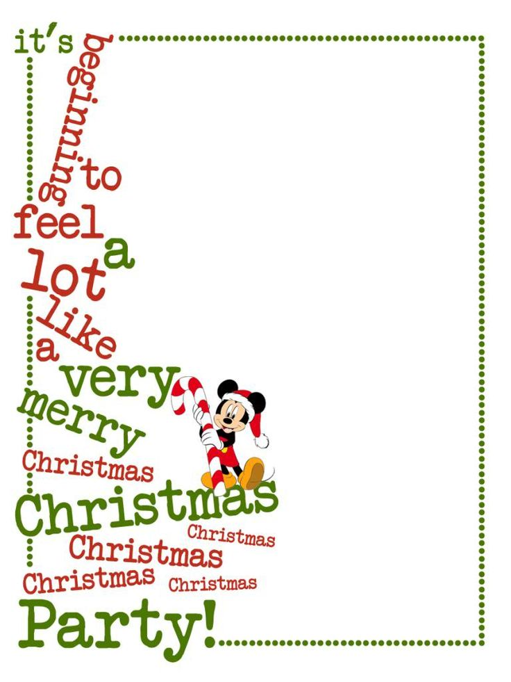 Journal Card - It's beginning to feel a lot like a very merry Christmas Party! - MVMCP - Mickey - 3x4 photo: A little 3x4inch journal card to brighten up your holiday scrapbook! Click on options - download to get the full size image (900x1200px). Clipart & MVMCP belong to Disney. Font is Another Typewriter www.dafont.com/another-typewriter.font ~~~~~~~~~~~~~~~~~~~~~~~~~~~~~~~~~ This card is **Personal use only - NOT for sale/resale/profit** If you wish to use this on a blog/webpage please…