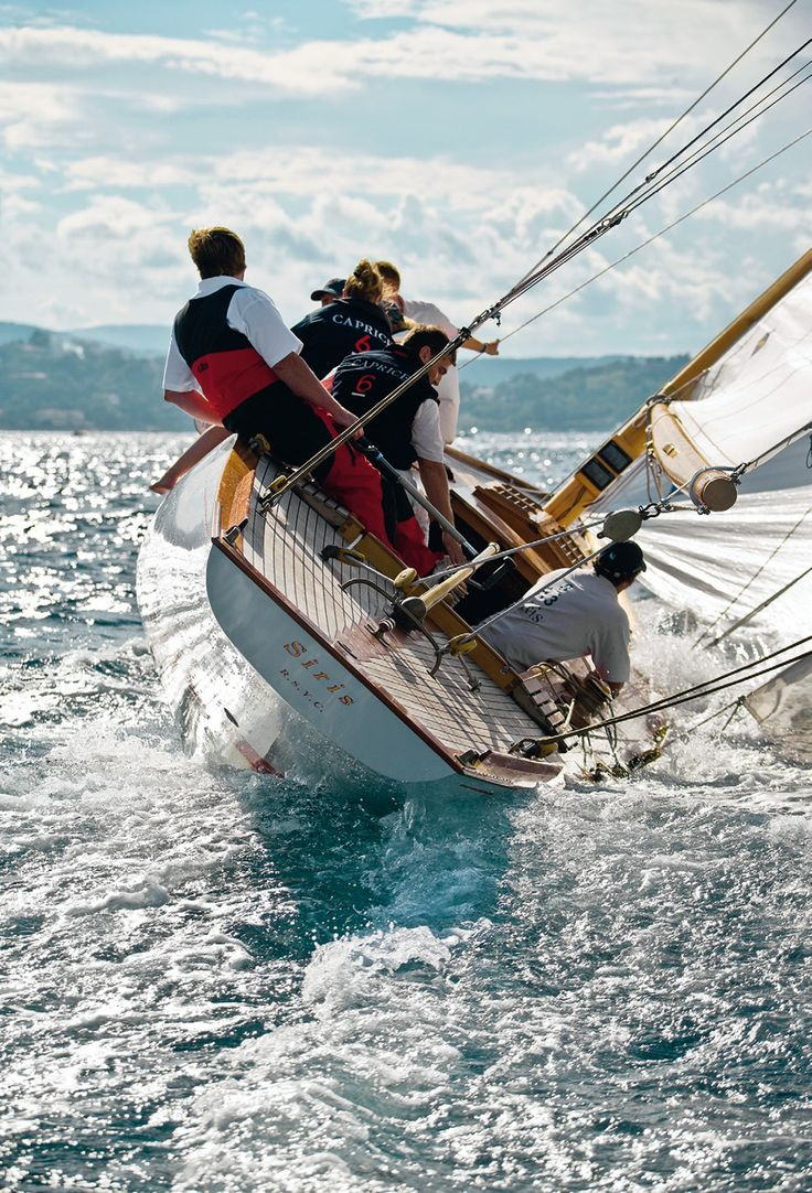 Siris, Classic Boat, Sailing, Ph.Franco Pace