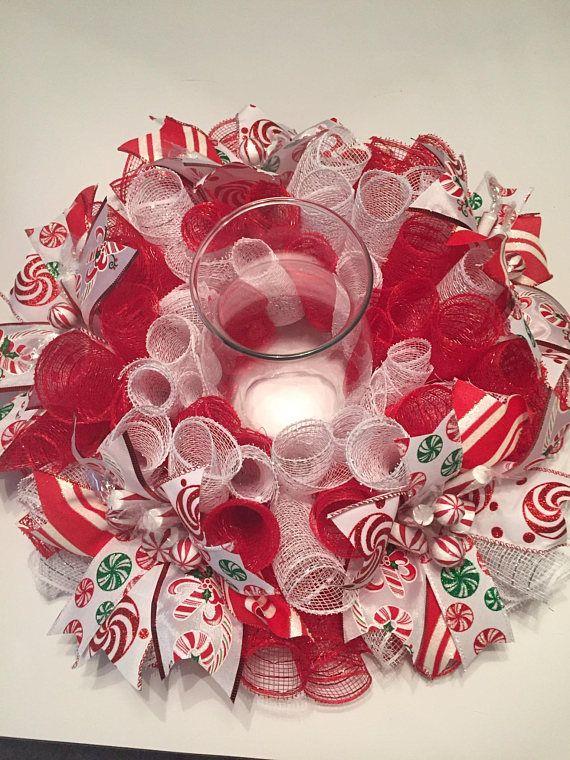 Christmas Candy Cane Centerpiece Ideas : Best candy centerpieces ideas on pinterest