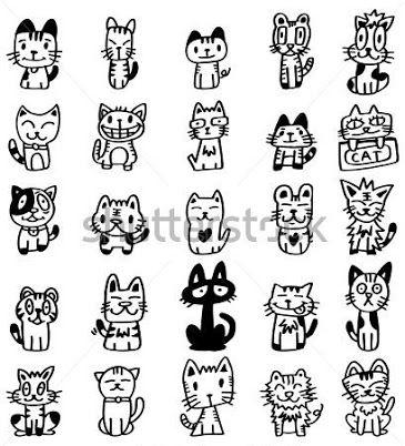 kedi çizim - Google'da Ara
