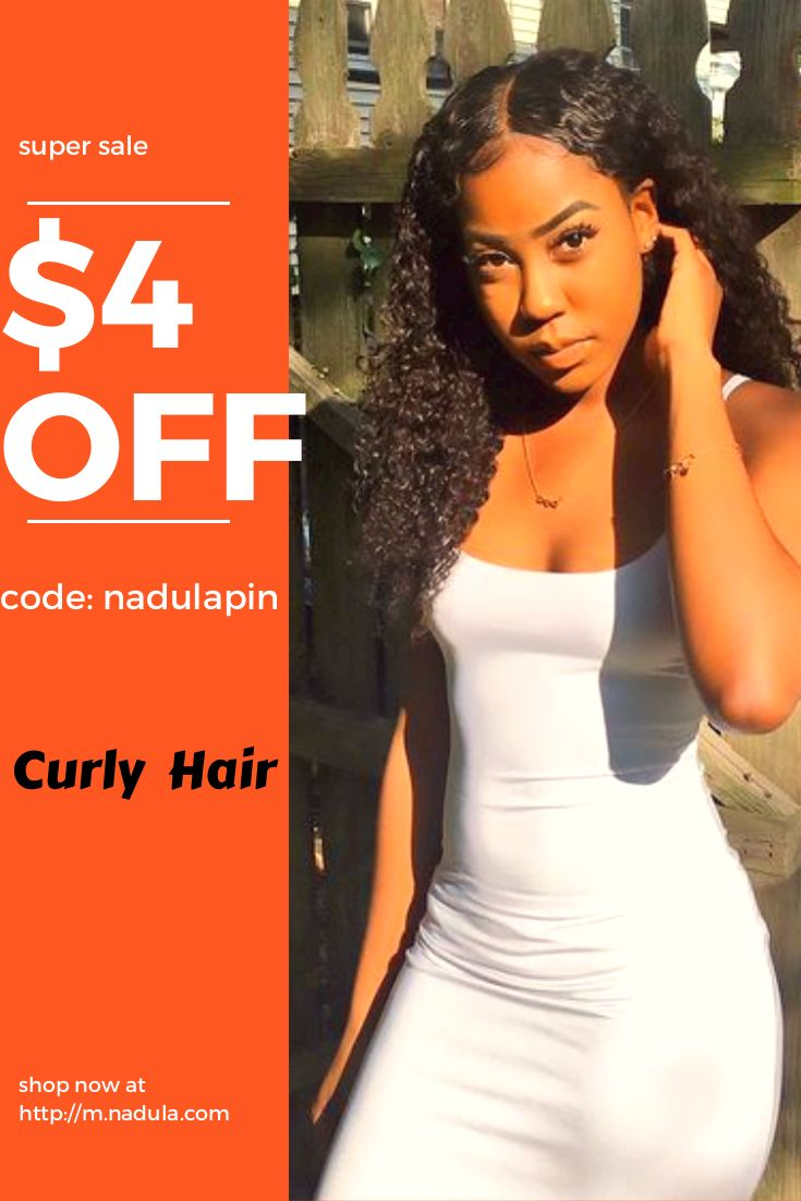 """Fashion Tips For Afro Beauty! Super Sale Of Cheap Nadula Brazilian Natural Black Kinky Curly 3 Bundles Deal,Use """"nadulapin""""For $4 Off ! #humanhair #wig #africanfashion"""