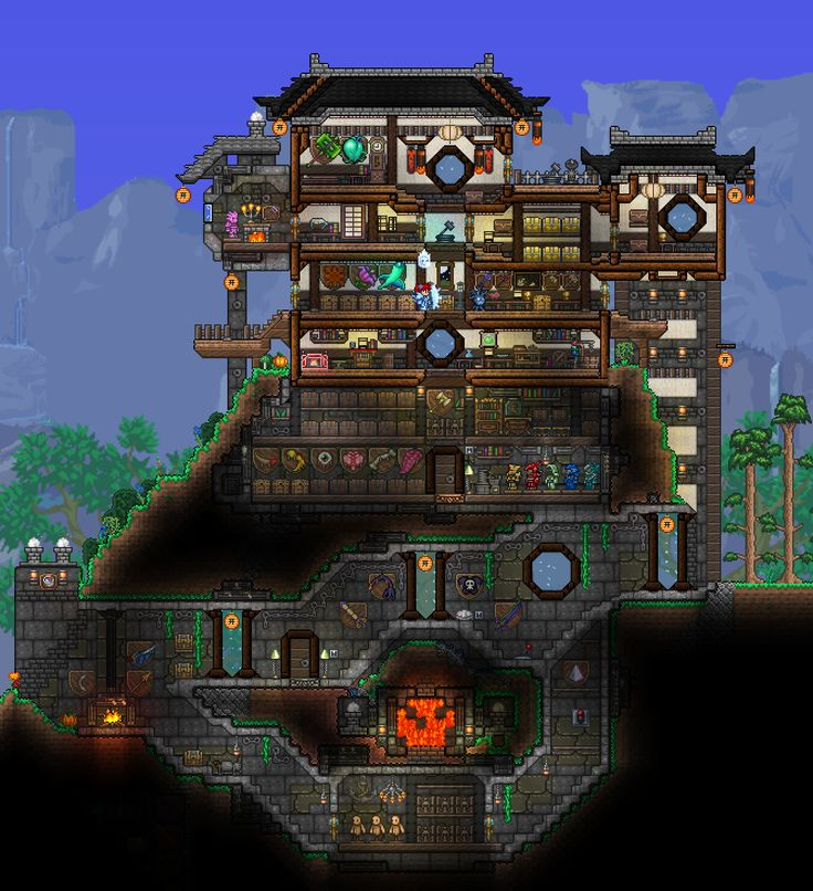 Pc Ballin Houses By Eiv: 171 Best Images About Starbound On Pinterest