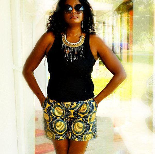 African Print Shorts, Ankara Beach  Shorts,  Brown African Shorts, Women African Print shorts, African Print Summer Shorts, Tribal Shorts by ZabbaDesigns on Etsy