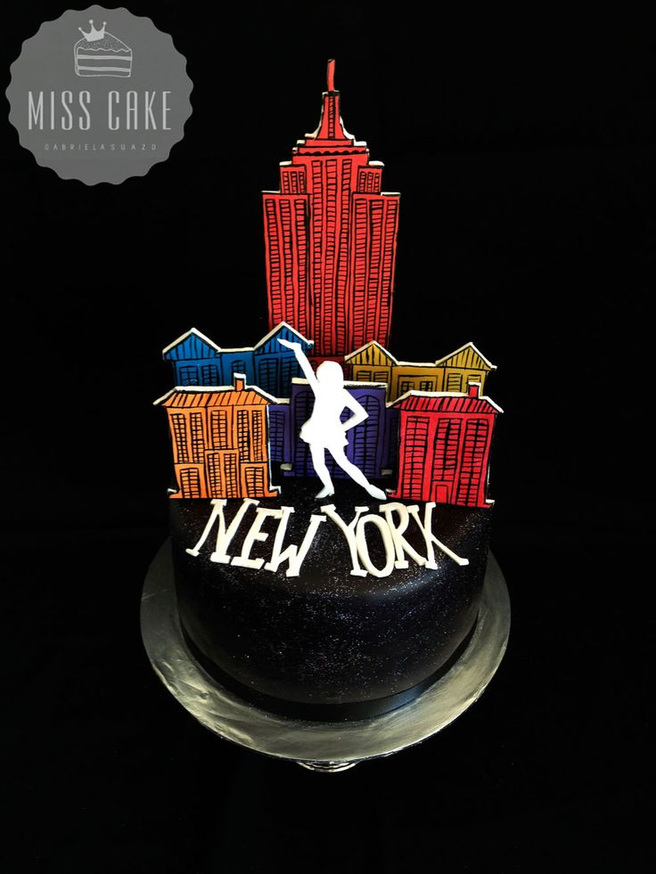 New York Cake, Torta New York, Girl Cake, Travel