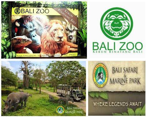 Wisata Kebun Binatang di Bali