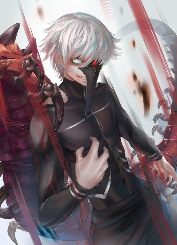 It is game over when you die by Ixora140    Tokyo Ghoul Kaneki Ken