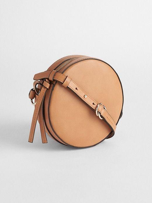 4b4796b0f04b Gap Womens Crossbody Circle Bag Natural   Products in 2019   Fashion ...