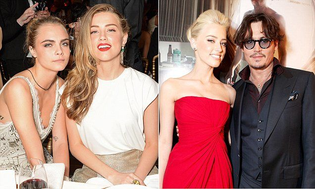 Johnny Depp 'driven insane by fear Amber Heard was cheating with Cara Delevingne'