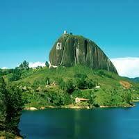 La piedra del peñol, guatape Antioquia!