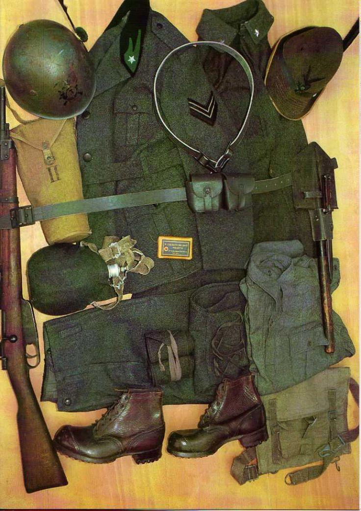 Regio Esercito, Equipaggiamento Divisione Alpina, 1940