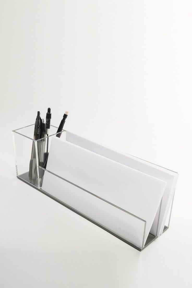 Pen & Letter Organizer by BINO Acrylic on @HauteLook