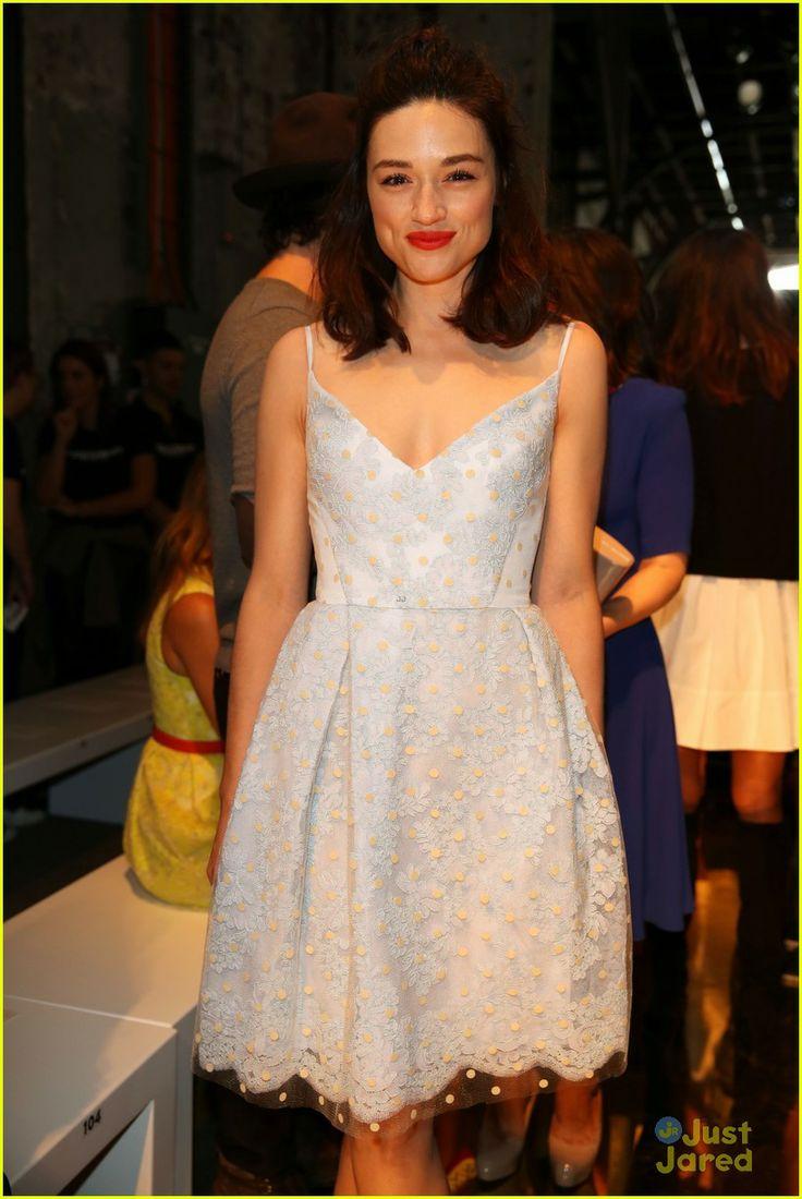 Crystal Reed at Australia Fashion Week